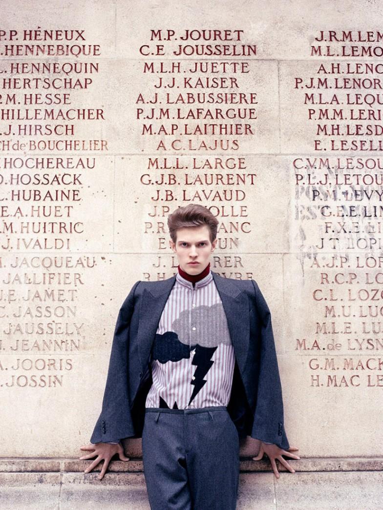 Jean François Carly for Mixte Magazine